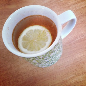lemon cayenne water