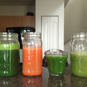 3 Days of Juicing