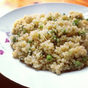 Quinoa with Fresh Mint