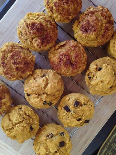 pumpkin muffins verticle