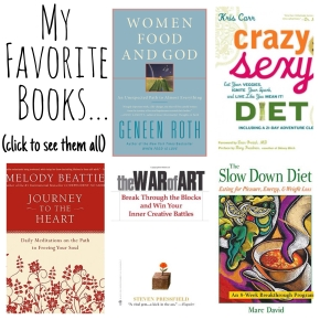 A List of My Favorites…