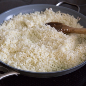 Coconut-Lime Cauliflower Rice