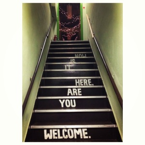 inspirational stairs