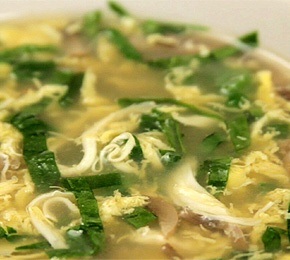 Simple Egg Drop Soup